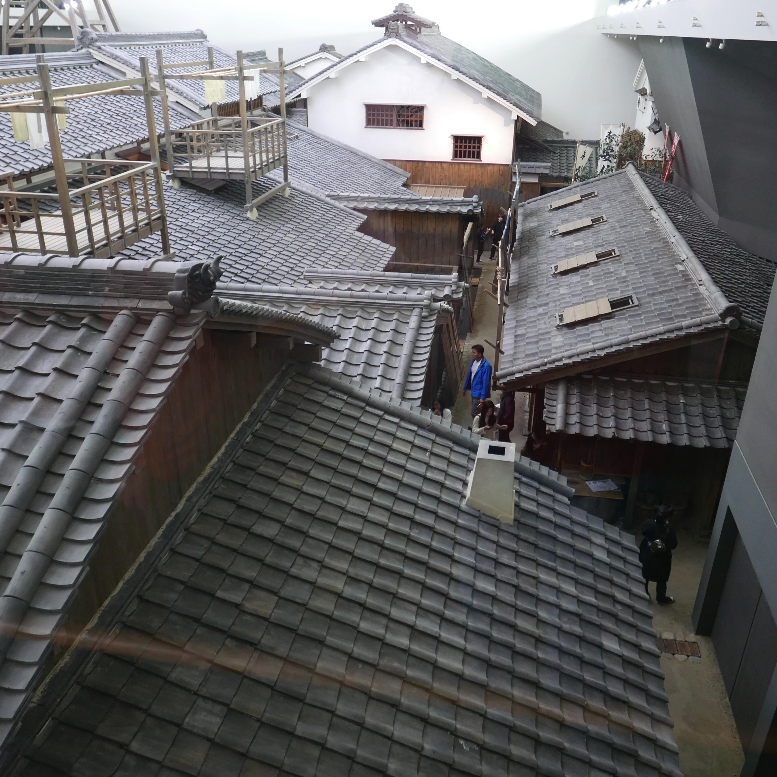 Torkställningarna på taken ser man aldrig i dagens Japan e08d9d567c4d6