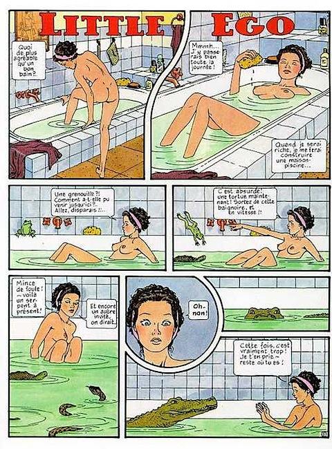Fantastiska fyra tecknad sex